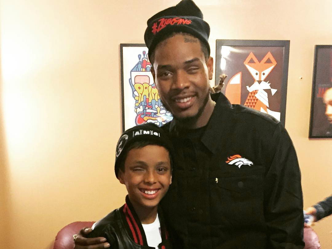 Fetty Wap Meets Child With Retinoblastoma