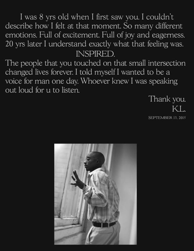 Kendrick Letter