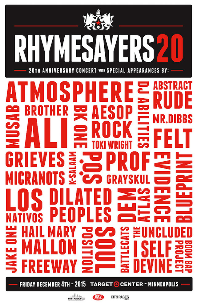 Rhymesayers 20