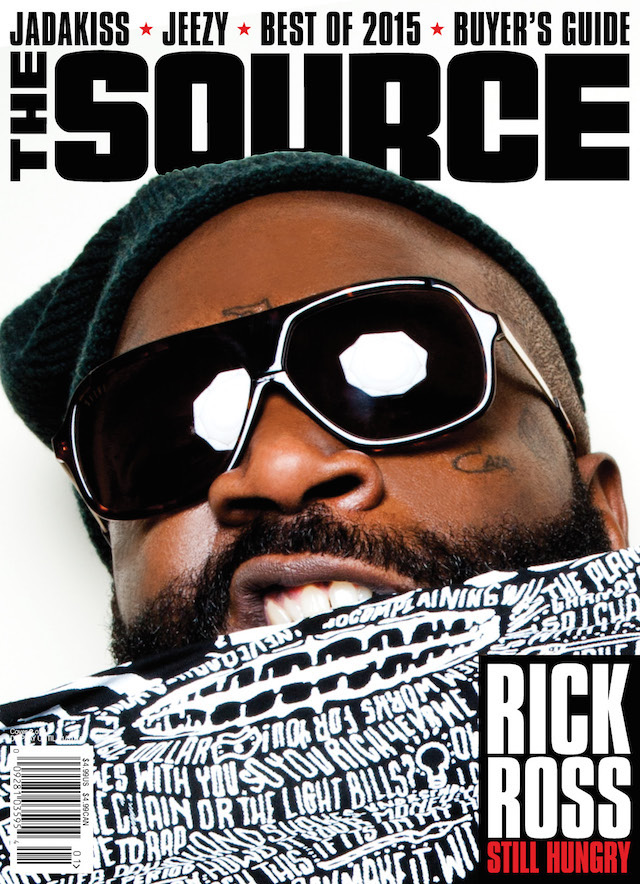 Rick Ross The Source Cover