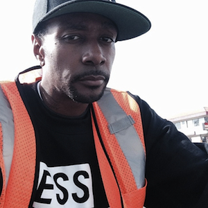 Krayzie Bone - 2017 Black hair & alternative hair style. Current length:  near-shaved Hair