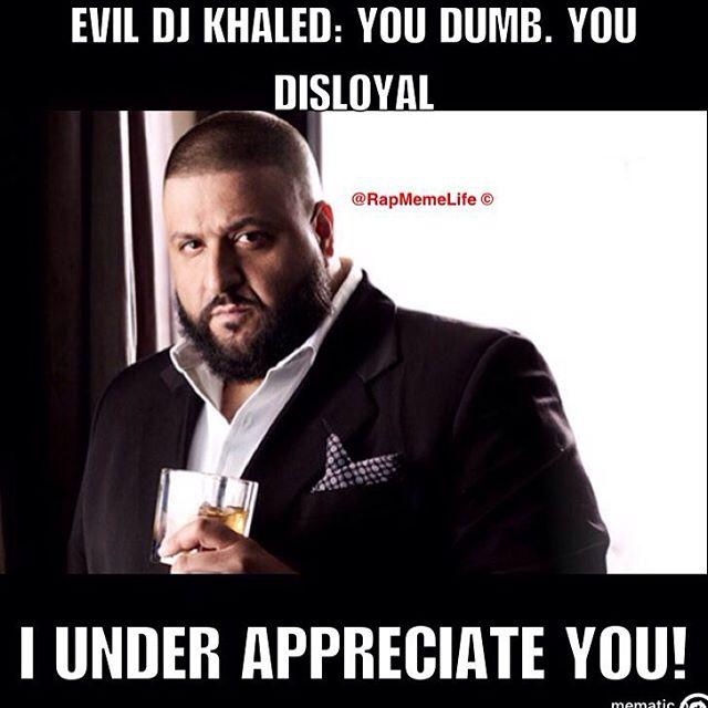 DJKhalidEvil all eyez on memes christmas cheer, dj khaled & dabbing hiphopdx