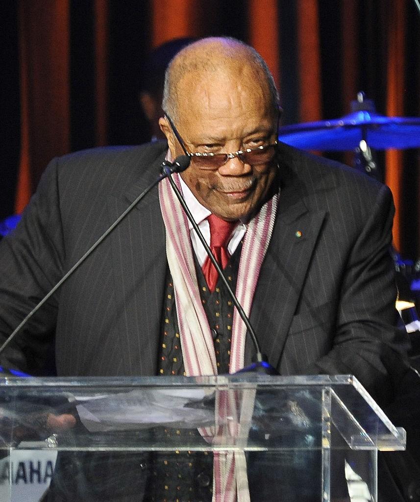 Quincy Jones Threatens To Abandon Common & Pharrell Oscar Presentation