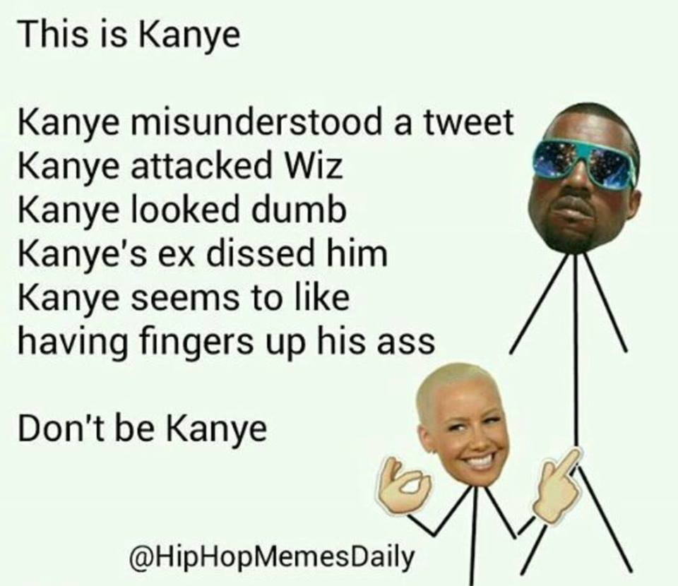 all eyez on memes: amber rose embarrasses kanye west & neil degrasse
