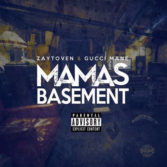 Gucci Mane Zaytoven Mamas Basement mixtape cover art
