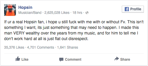 hopsin-threatens-to-leave-funk-volume-following-issues-with-ceo-damien-ritter