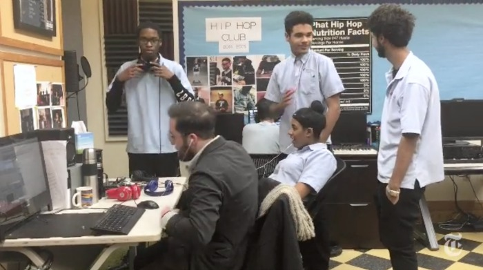 "Bronx Charter School Uses ""Hip Hop Therapy"" To Mentor Students"