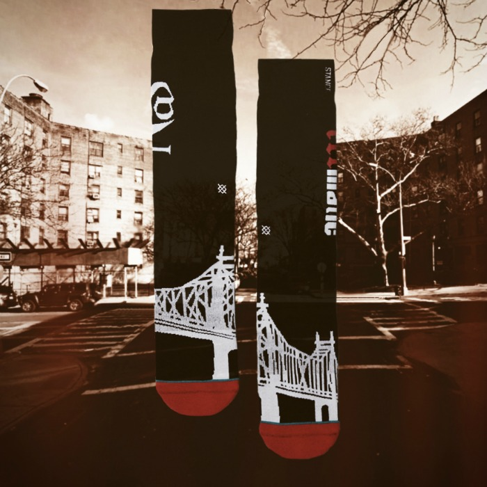 "The position of the Anthem of the Collection, Presents ""Illmatic"" Sock"