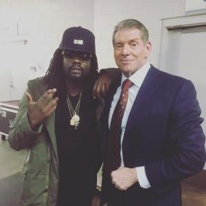 Wale & WWE Squash Beef