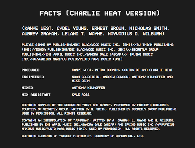 17 Kanye West The Life Of Pablo Facts (Charlie Heat Version)