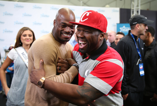 50 Cent Supports Starkey Hearing Super Bowl Foundation Event