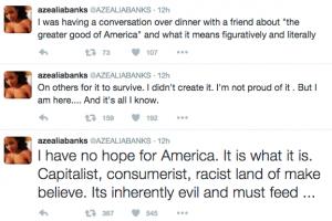 Azealia Banks Donald Trump Twitter