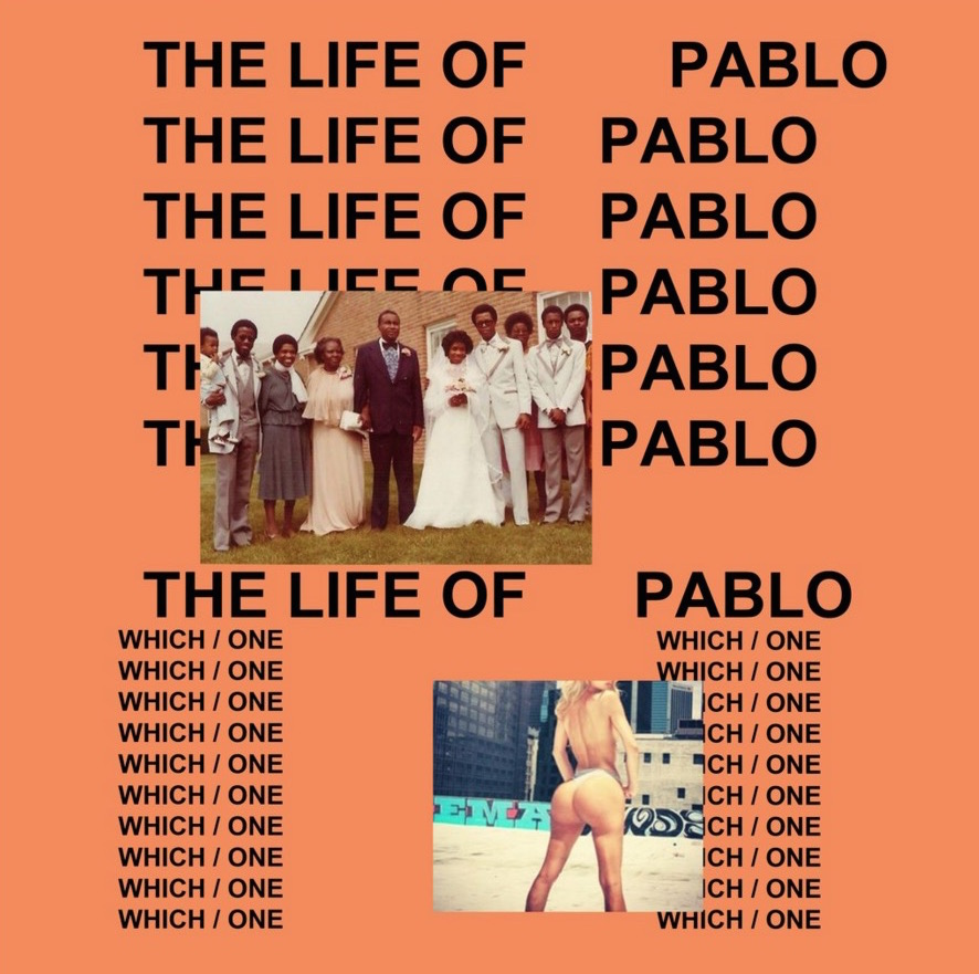 Kanye West The Life of Pablo - Cover 2