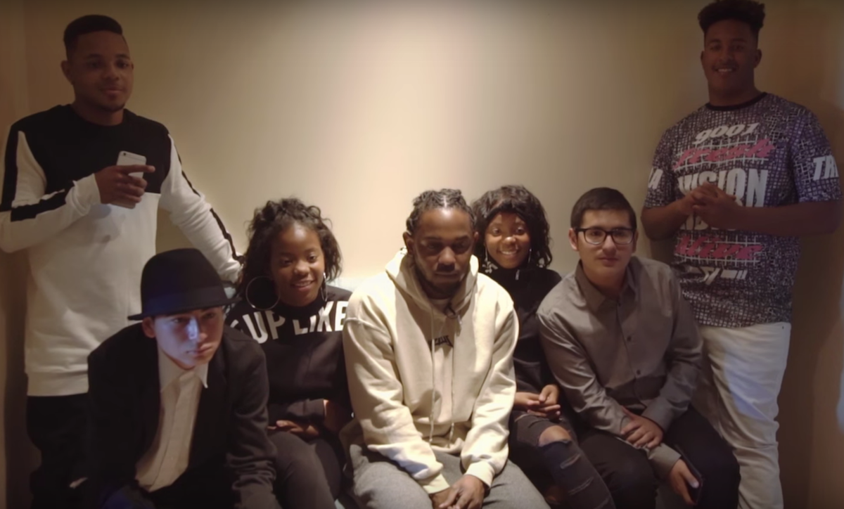 Kendrick Lamar Brought High School Students From His Alma Mater To The Grammys