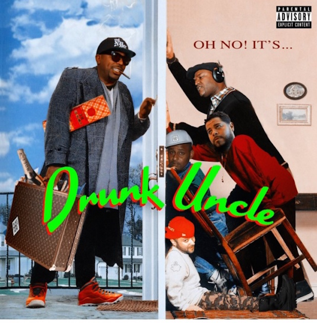 N.O.R. E. Oh No! It's... Drunk Uncle Cover Art