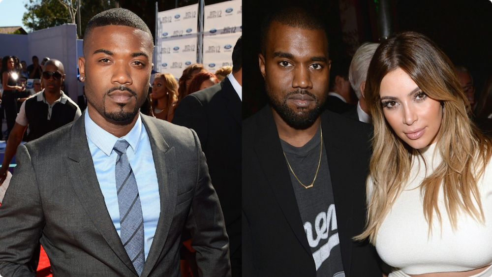 """Kanye West Calls Out Ray J On """"T.L.O.P.,"""" Ebro Says"""