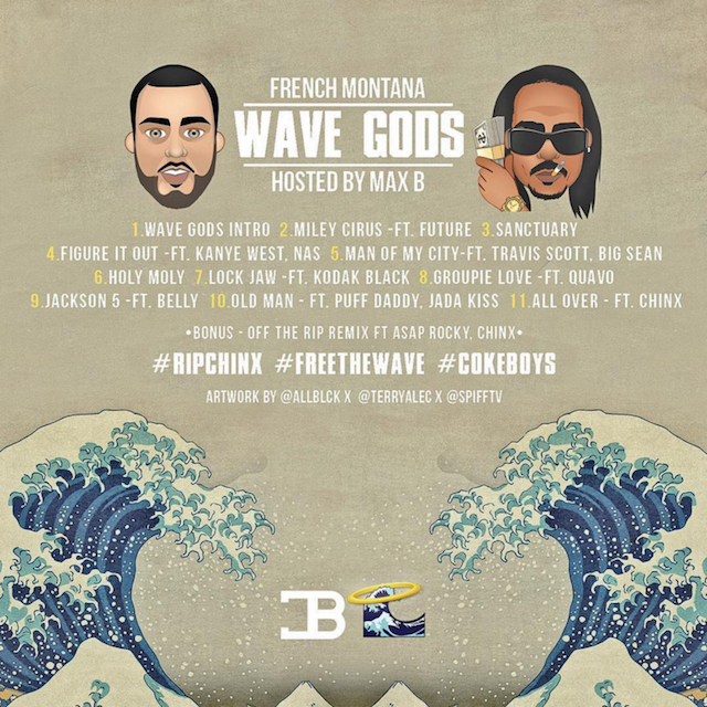 french montana wave gods back cover