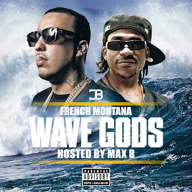 french montana wave gods mixtape cover