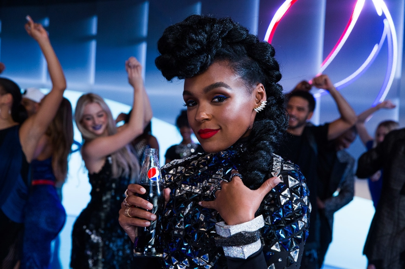 "Janelle Monáe Stars In Pepsi Super Bowl 50 Commercial, ""The Joy Of Dance"""