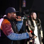 50 Cent Joins Post Malone On Stage In New York