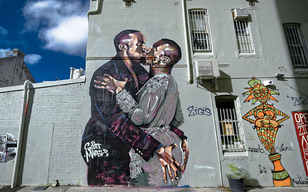 Kanye Loves Kanye Mural