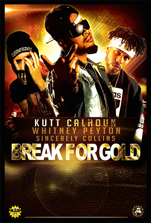 Kutt Calhoun The Break For Gold Tour Flyer