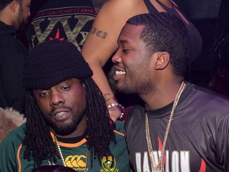 Snapchat Jumpin': Meek Mill & Wale Attend Rick Ross' Birthday Party