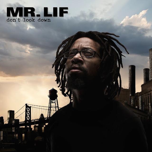 Mr. Lif Don't Look Down Album Cover Art