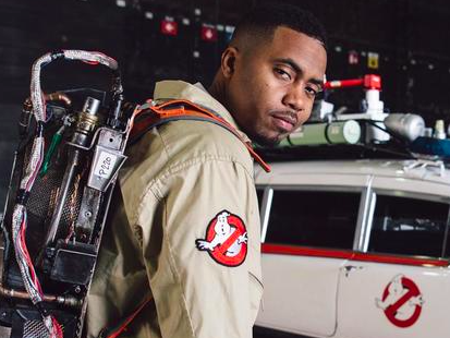 "Nas Announces Clothing Line With ""Ghostbusters"""