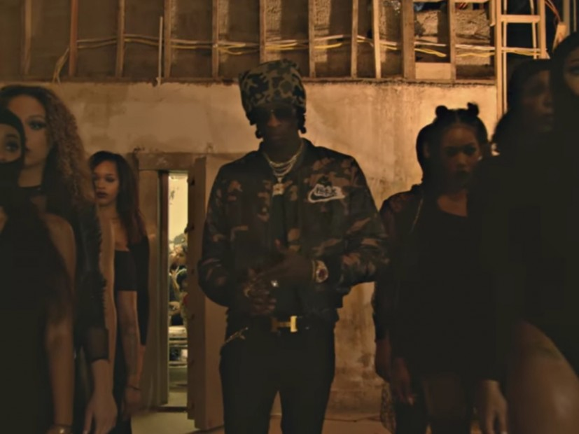 """Young Thug Marches Through Atlanta In """"My People"""" Video"""