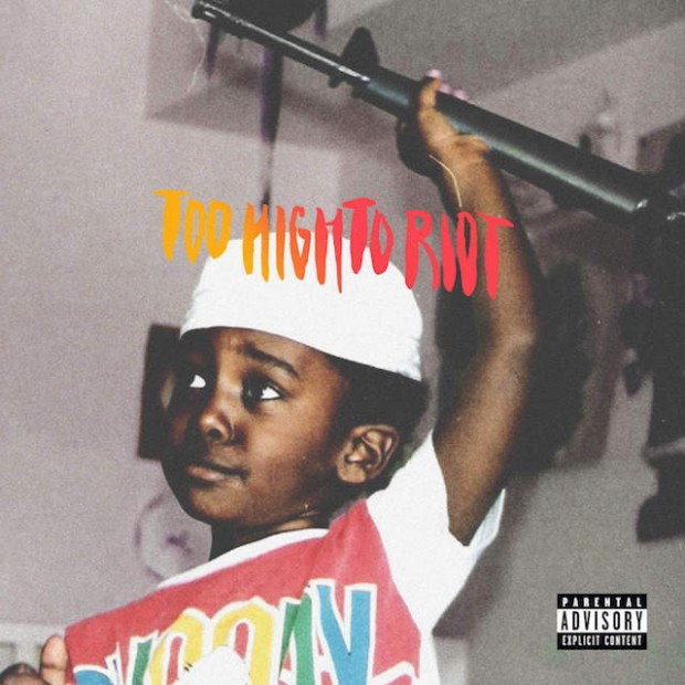 Bas - Too High To Riot