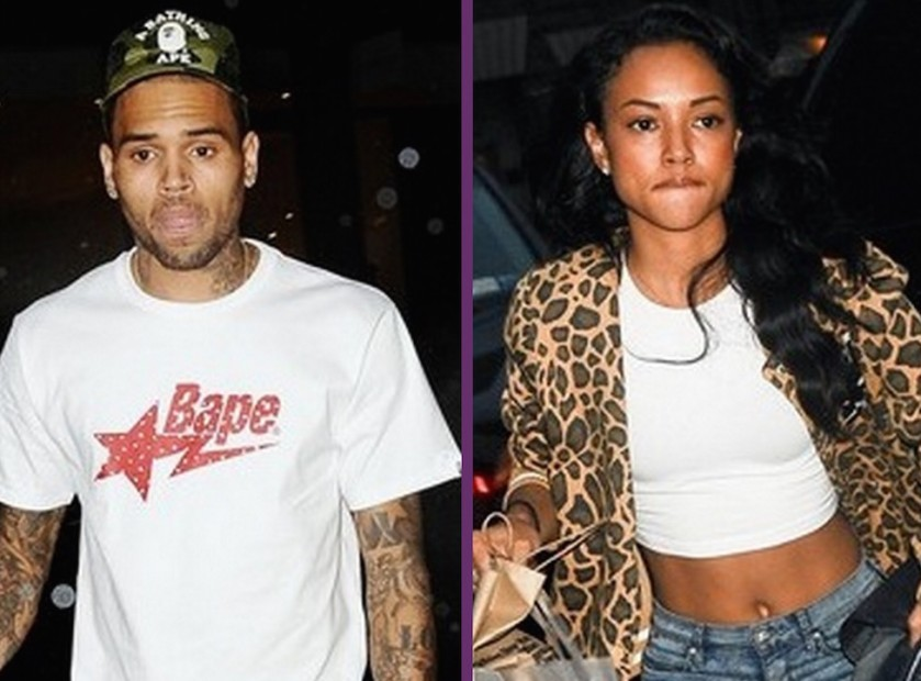 "Karrueche Tran Calls Chris Brown ""Petty"" After He Questions Her ""Talent"""