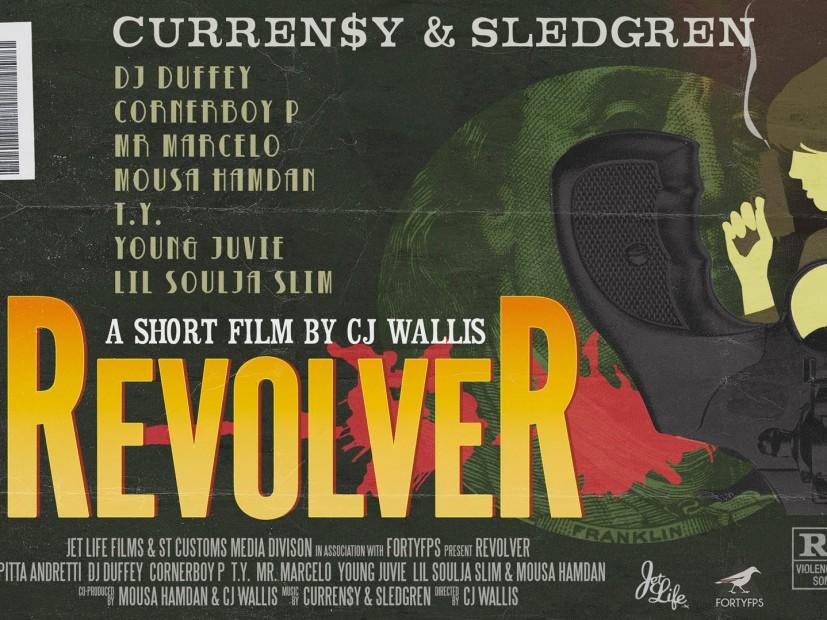 """Curren$y & Sledgren Unleash New Short Film """"Revolver"""""""