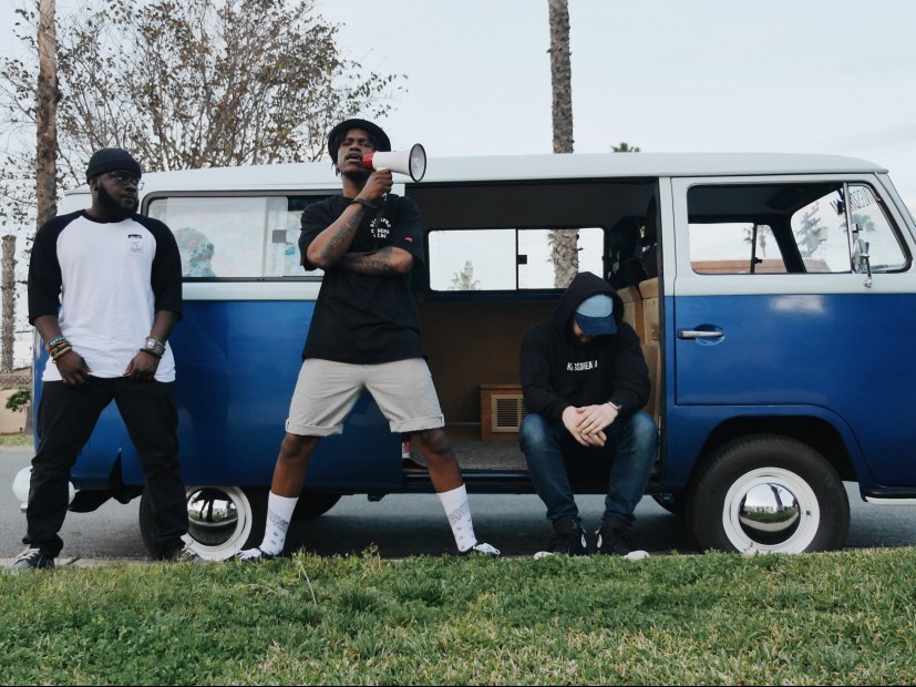 "Dream Junkies Bring The Heat To The Streets In The Video For ""Get A Bar Bandwagon"""