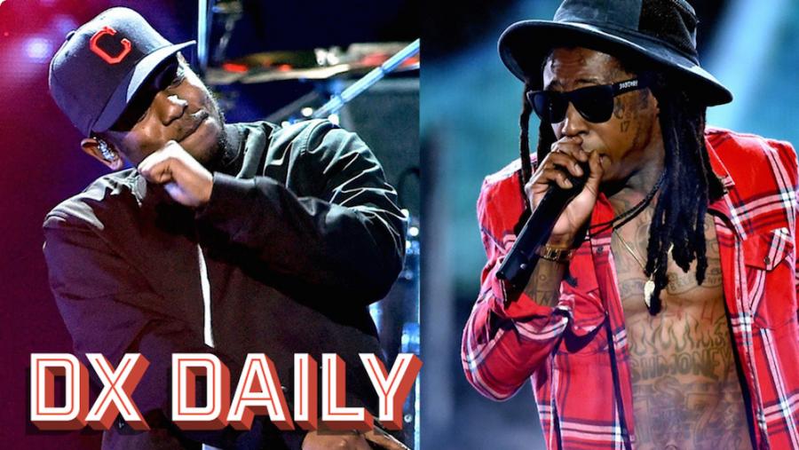 Kendrick Lamar & Lil Wayne Trade Props