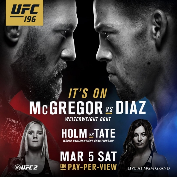DMX Narrates UFC 196 Hype Video With Holly Hohm & Conor McGregor