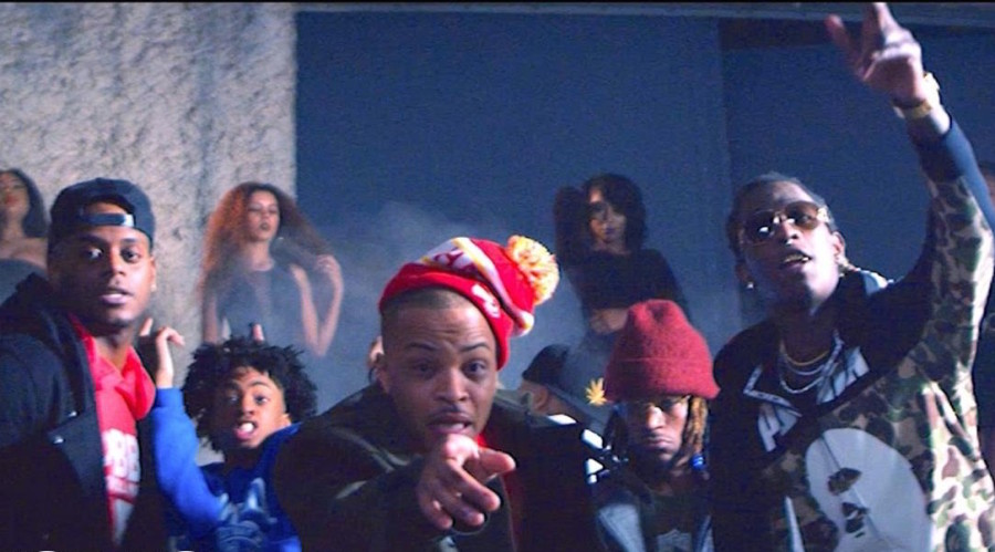 """T.I., Young Thug & Shad Da God Nab London Jae For """"Out My Face"""" Video"""