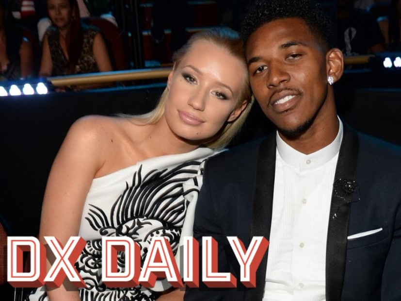 "Iggy Azalea Threatens To Cut Nick Young's ""Meat"" Off"