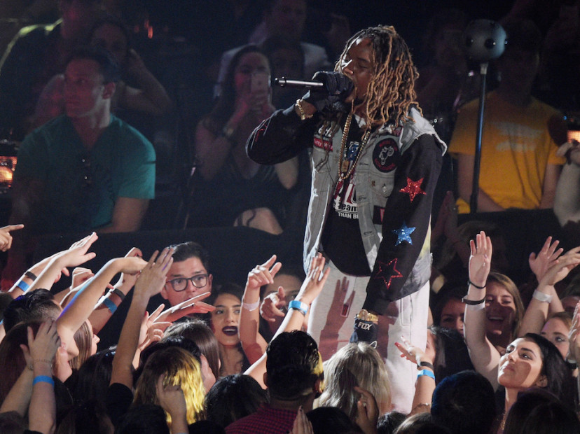 "Fetty Wap Performs ""Again"" At 2016 iHeart Radio Music Awards"