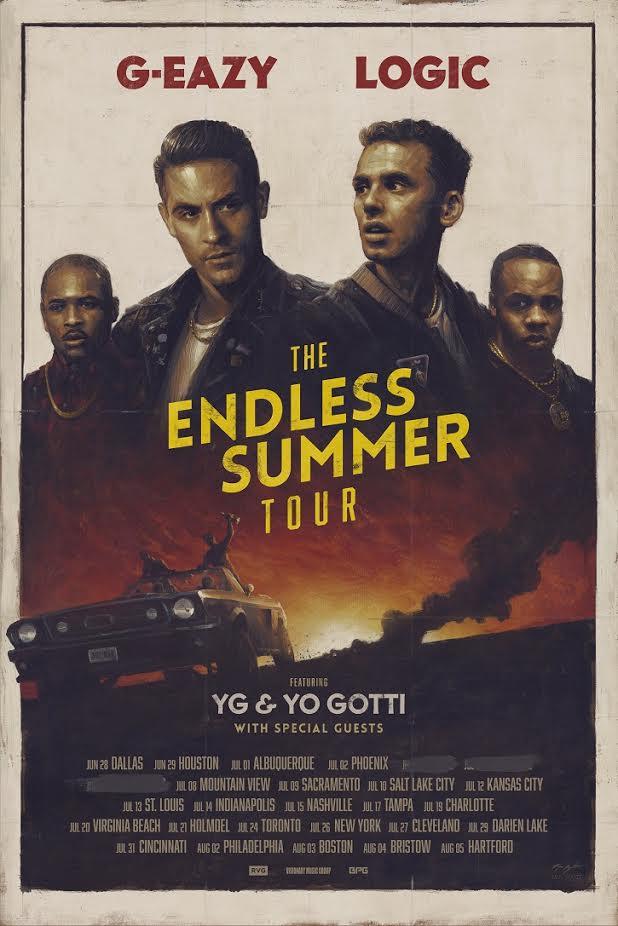 Logic Endless Summer Tour Dallas