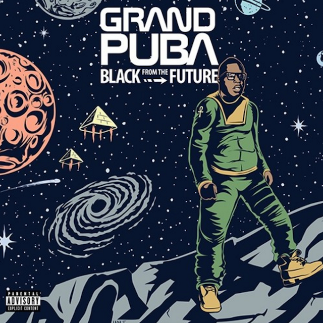 Grand Puba Black To The Future Album Cover