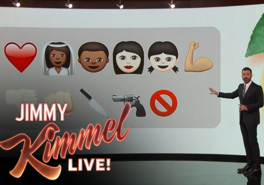 "Jimmy Kimmel Explains Beyonce's ""Lemonade"" Controversy Using Emojis"