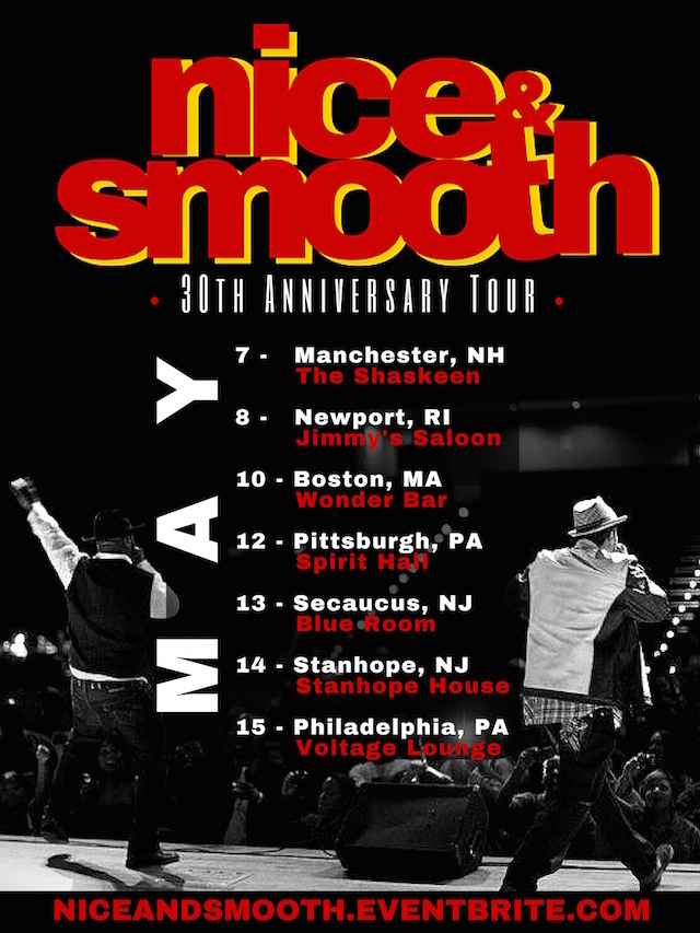 Nice & Smooth Tour Flyer-2
