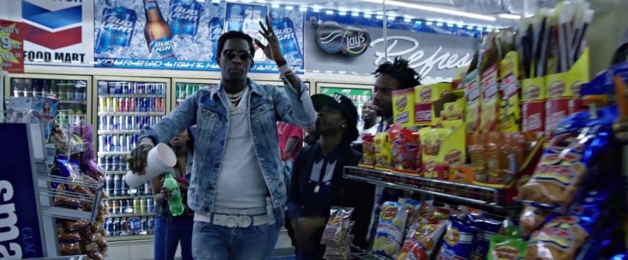 """Young Thug Pays Tribute To """"King Troup"""""""