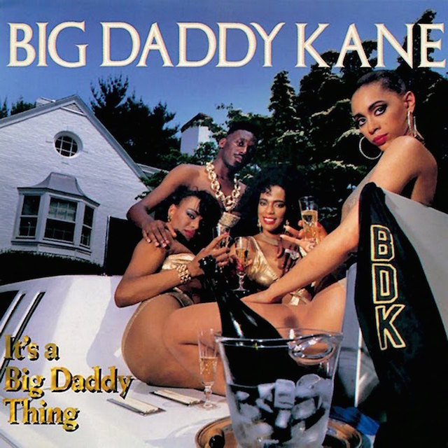 big daddy kane it's a big daddy kane album cover