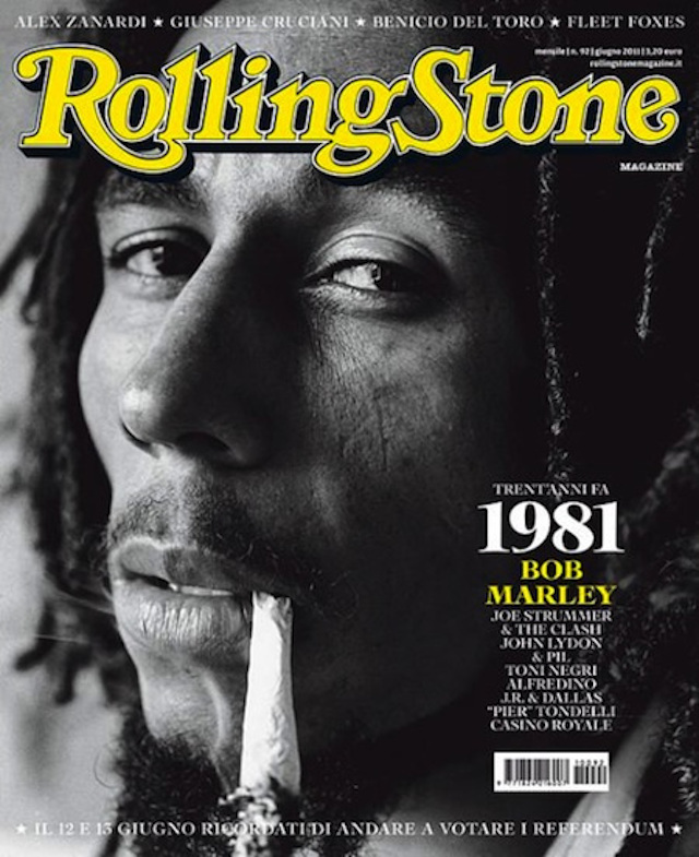 bob marley rolling stone cover