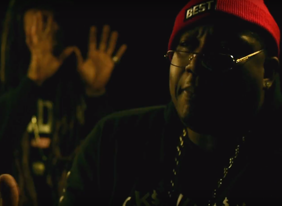 "E-40, Turf Talk & Cousin Fik Takeover The Night In ""It's The First"" Visuals"