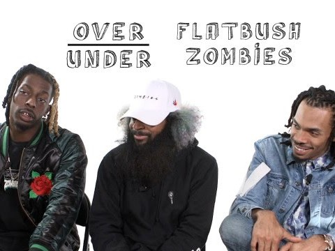 "The Flatbush Zombies Play ""Over/Under"""