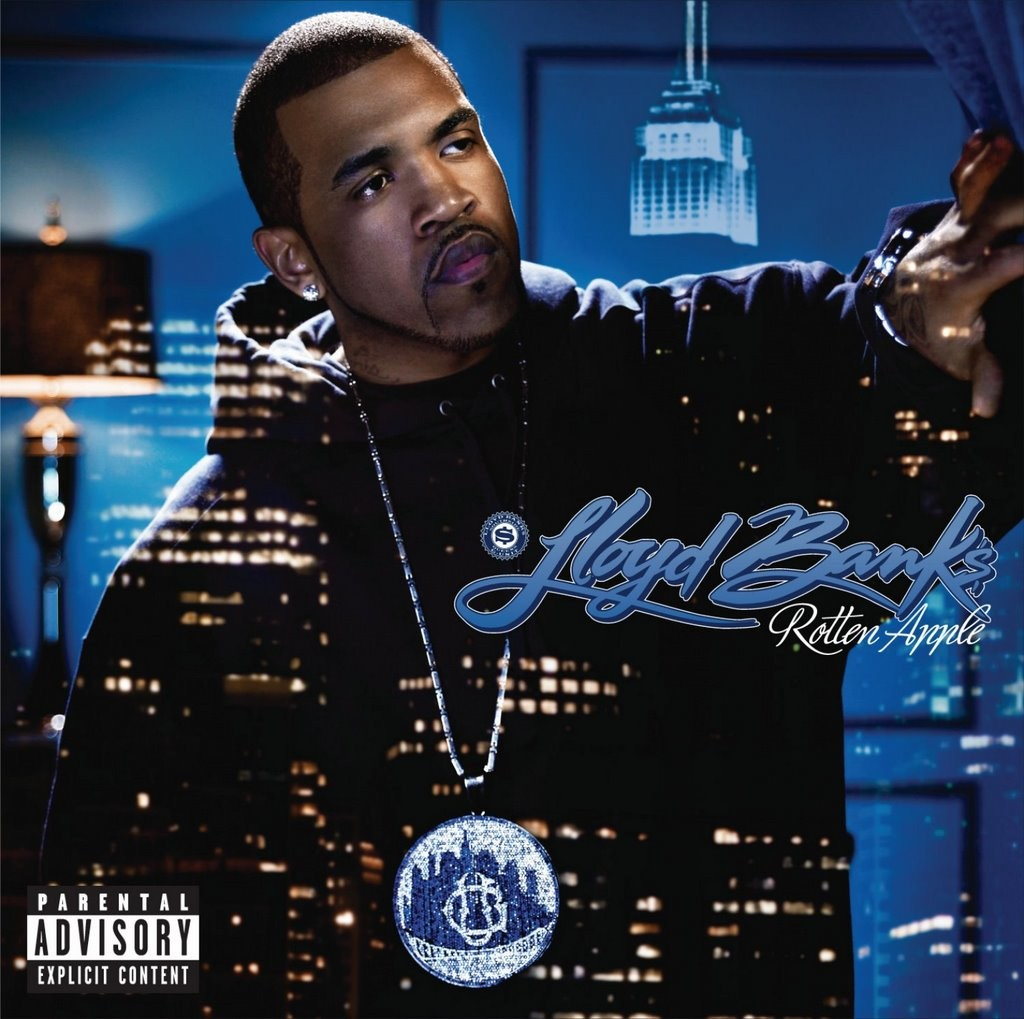 Rap album covers that borrowed from movies hiphopdx lloyd banks rotten apple album malvernweather Gallery