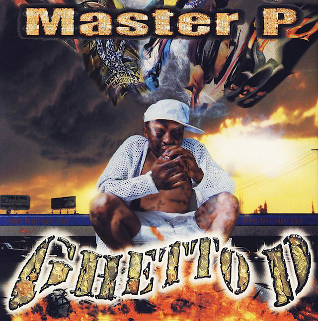 master p ghetto dope uncensored album cover